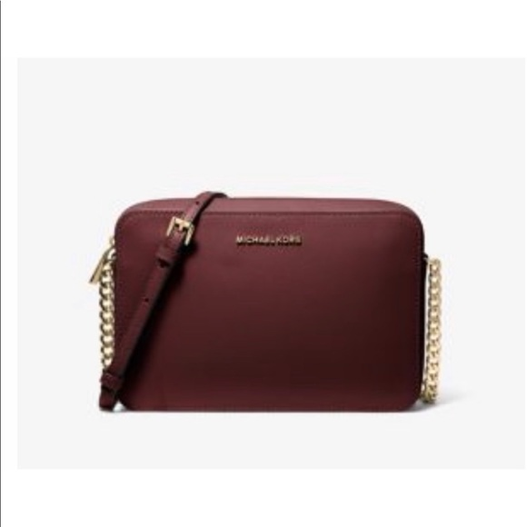 Michael Kors Handbags - Michael Kors crossbody in oxblood color